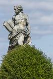WALBRZYCH POLEN - JULI 07, 2016: Härliga monument nära Ksia Royaltyfri Foto
