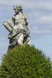 WALBRZYCH, POLEN - JULI 07, 2016: Mooie monumenten dichtbij Ksia royalty-vrije stock foto