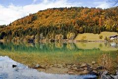 Walchenlake in Bayern Stockfoto