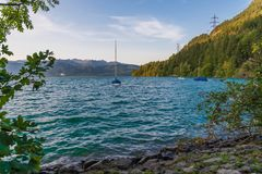 Walchensee 库存图片