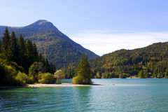 Walchensee in Bavarian Alps, Germany Royalty Free Stock Image
