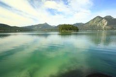 Walchensee del lago Fotografie Stock