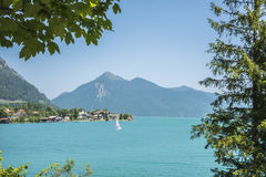 Walchensee and Jochberg Royalty Free Stock Photos