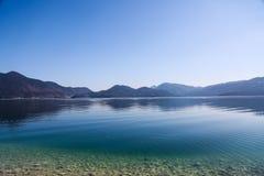 Walchensee, lago no bavaria imagens de stock