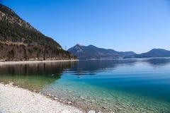 Walchensee, lago no bavaria fotografia de stock royalty free
