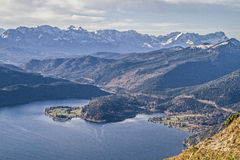 Walchensee view Royalty Free Stock Photo