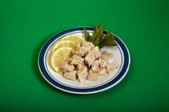 walcowane kawału tuńczyka Fotografia Stock