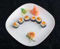 walcowane sushi Zdjęcia Royalty Free