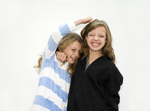 walczące siostry dwa Obraz Stock