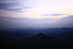 Wald und Berg Stockfotos