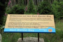 Wald wandel weg Royalty Free Stock Image