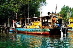 Waldboot Lizenzfreies Stockfoto