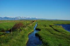 Walden,科罗拉多南部  免版税库存图片