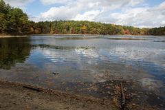 Walden Pond Stock Photography