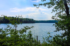 Walden Pond Royalty Free Stock Image