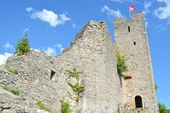 Waldenburg Castle Ruin Royalty Free Stock Image