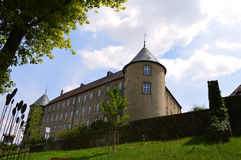 Waldenburg fortress, on the side Stock Images