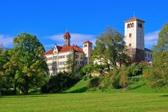 Waldenburg palace Royalty Free Stock Photography