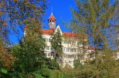 Waldenburg palace Royalty Free Stock Photography