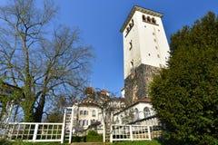 Waldenburg Saxony spring town architecture Royalty Free Stock Image