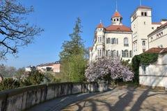 Waldenburg Saxony spring town architecture Stock Images