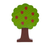 Waldiger SpielzeugApfelbaum stockfotografie
