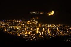 Waldkirch par nuit Photos libres de droits