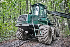Waldmaschine Lizenzfreie Stockbilder