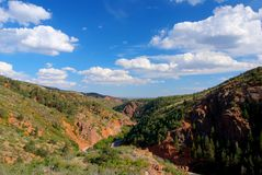 Waldo Canyon Stock Photo