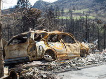 Waldo Canyon Fire 2012 Stock Image
