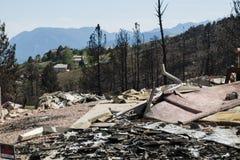 Waldo Canyon Fire 2012 Stock Photos