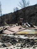 Waldo Canyon Fire 2012 Royalty Free Stock Photos