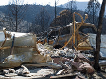 Waldo Canyon Fire 2012 Royalty Free Stock Photo