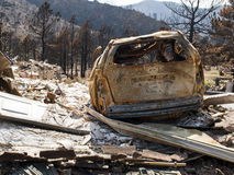 Waldo Canyon Fire 2012 Royalty Free Stock Photography