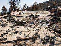 Waldo Canyon Fire 2012 Royalty Free Stock Image