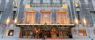 Waldorf Astoria Stock Photo