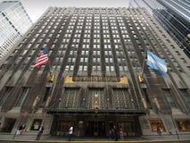 Waldorf Astoria auf Park-Allee in New York City Stockfotografie