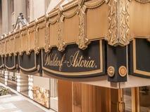 Waldorf Astoria Hotel Stock Images