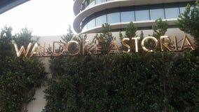 Waldorf Astoria hotel w Beverly Hills obraz royalty free
