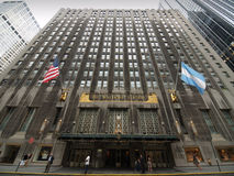 Waldorf Astoria on Park Ave in New York city Stock Photography