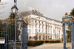 Waldorf Astoria Trianon Palace Hotel - Versailles Stock Photo