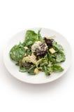 Waldorf green salad top view  Royalty Free Stock Images