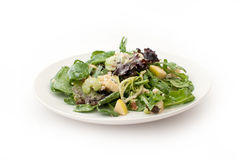 Waldorf healthy salad side view Stock Photo