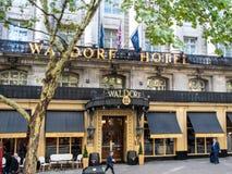 Waldorf hotel London stock photo