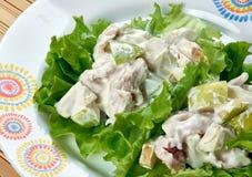 Waldorf Salad Cups Royalty Free Stock Photos