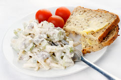 Waldorf Salad meal Stock Image