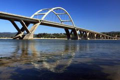 Waldport Bridge royalty free stock images