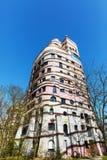 Waldspirale budynek od Hundertwasser w Darmstadt, Niemcy obraz royalty free