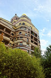 The Waldspirale building Royalty Free Stock Photos