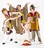 Waldspiritus-Kostüme Lizenzfreies Stockfoto